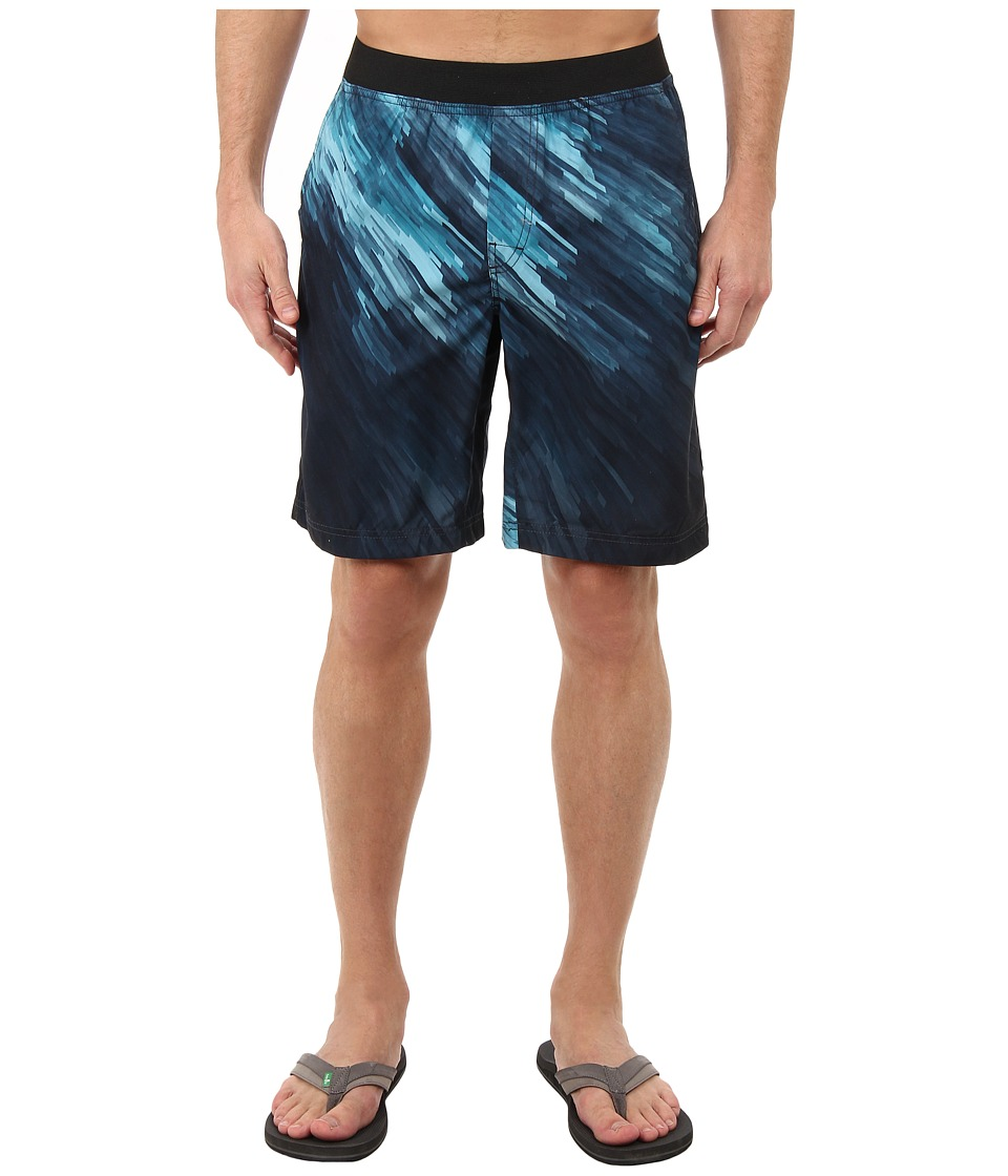 Prana - Mojo Short (Deep Teal) Men's Shorts