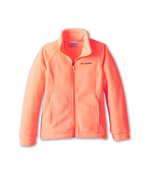 Columbia Kids - Benton Springs Fleece (Little Kids/Big Kids) (Coral Glow) Girl