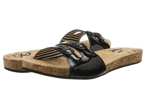 DV8 - Zeebi (Black Patent Stella) Women's Sandals