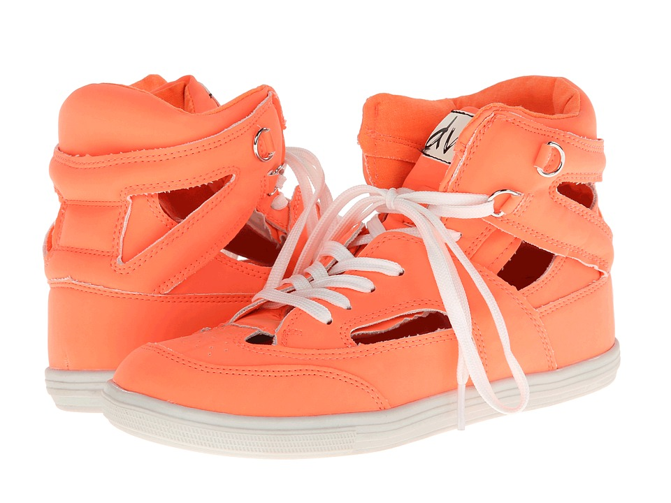 DV8 - Kelli (Electric Coral) Women's Lace up casual Shoes