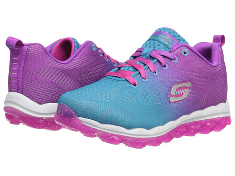 SKECHERS KIDS - Skech Air 80223L (Toddler/Little Kid/Big Kid) (Blue/Purple) Girls Shoes