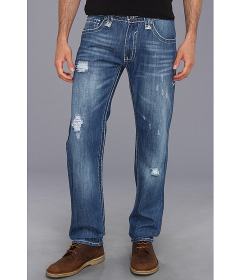 Antique Rivet - Mens Jeans in Andover (Andover) Men's Jeans