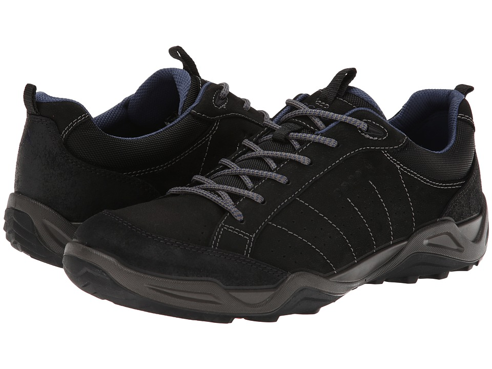 Ecco Performance - Sierra II (Black/Black/Denim Blue) Men's Shoes