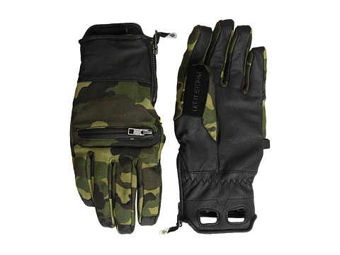 Volcom - Let It Storm Glove (Camouflage) Extreme Cold Weather Gloves