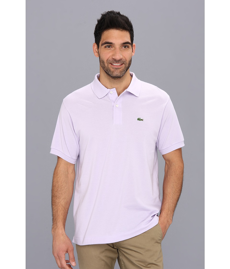 Lacoste - L1212 Classic Pique Polo Shirt (Iris) Men's Short Sleeve Knit