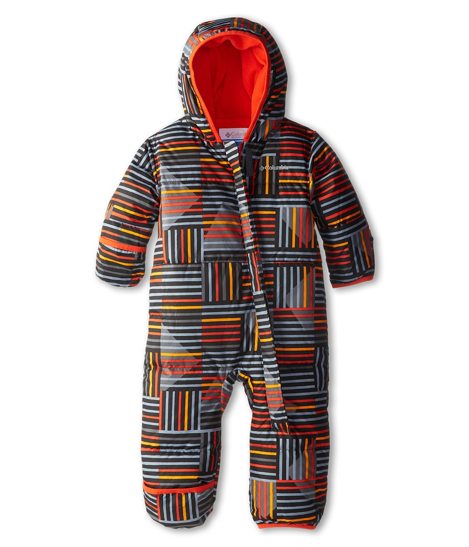 Columbia Kids - Snuggly Bunny Bunting (Infant) (State Orange Print/State Orange) Kid