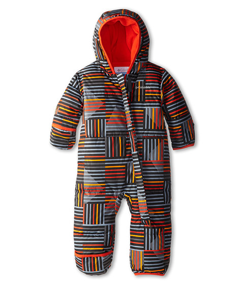 Columbia Kids - Snuggly Bunny Bunting (Infant) (State Orange Print/State Orange) Kid's Jumpsuit & Rompers One Piece