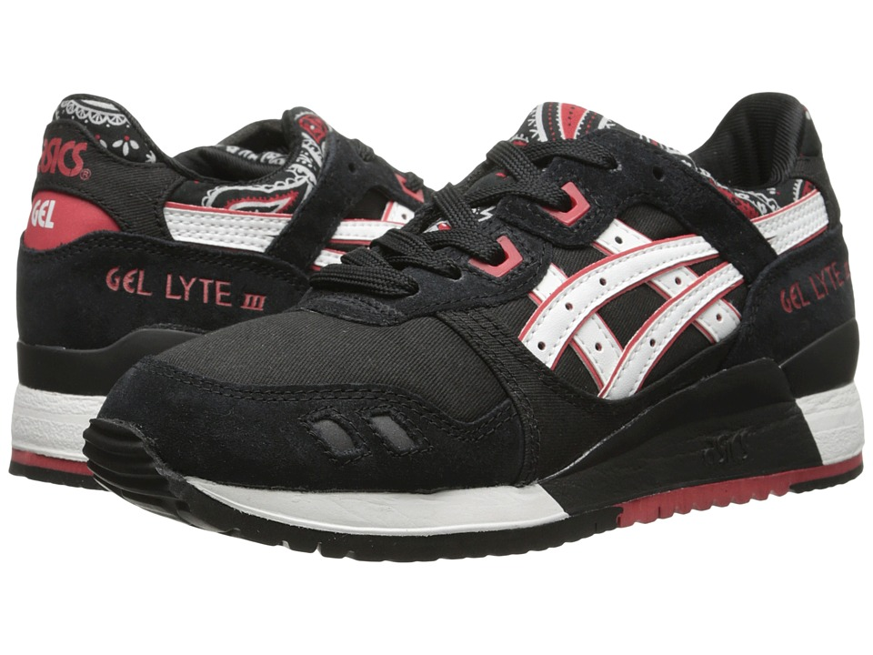 ASICS Tiger - Gel-Lyte III (Black/White) Classic Shoes