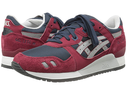 Onitsuka Tiger by Asics - Gel-Lyte III (Burgundy/Soft Grey) Classic Shoes
