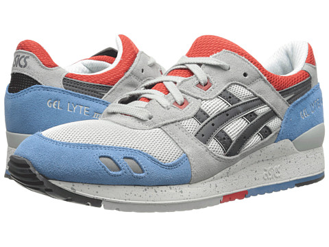 Onitsuka Tiger by Asics - Gel-Lyte III (Soft Grey/Dark Grey) Classic Shoes