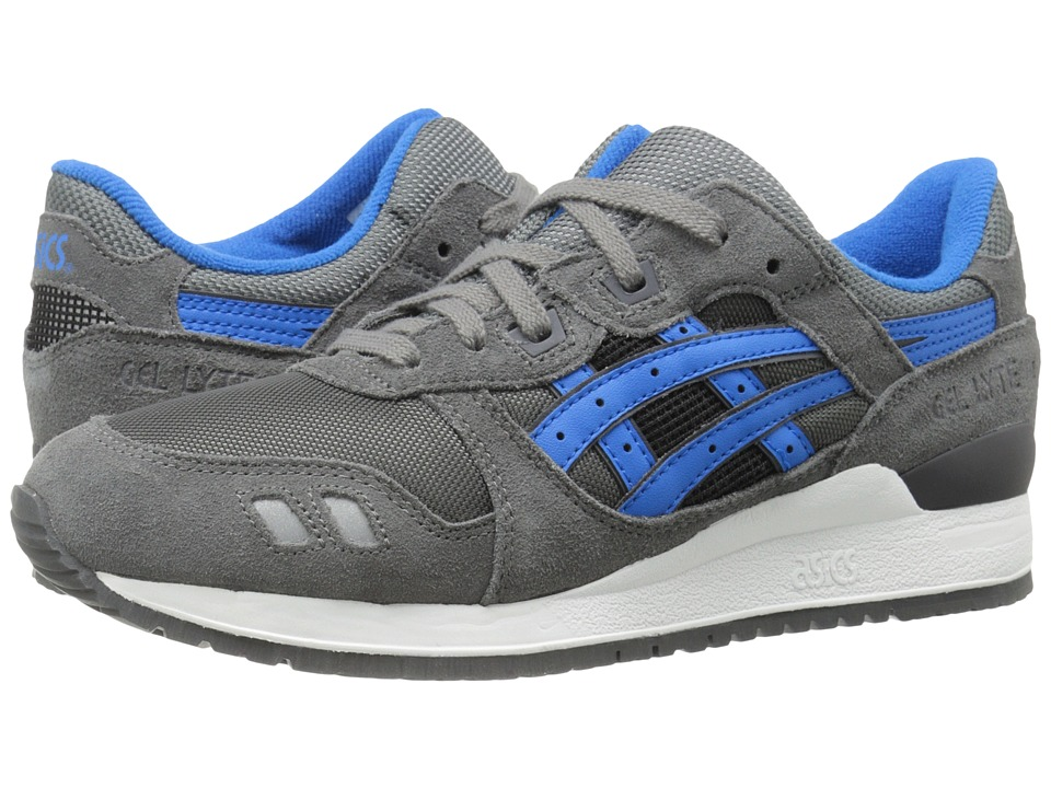 Onitsuka Tiger by Asics - Gel-Lyte III (Grey/Mid Blue) Classic Shoes