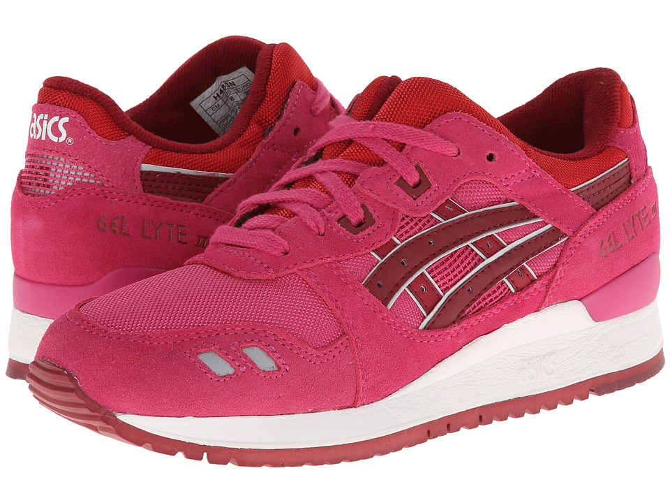 ASICS - Gel-Lyte III (Magenta/Burgundy) Women's Shoes