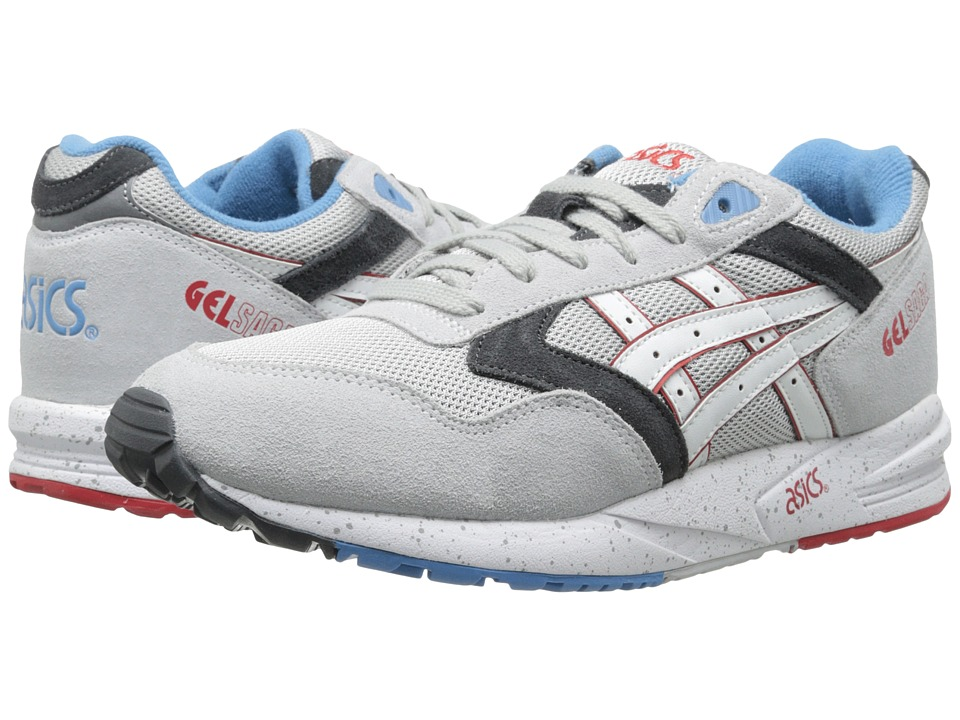 ASICS Tiger - Gel-Saga (Soft Grey/White) Lace up casual Shoes