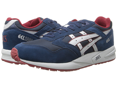 Onitsuka Tiger by Asics - Gel-Saga (Navy/Soft Grey) Lace up casual Shoes