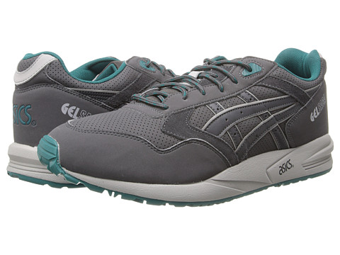 Onitsuka Tiger by Asics - Gel-Saga (Dark Grey/Dark Grey) Lace up casual Shoes