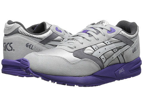 Onitsuka Tiger by Asics - Gel-Saga (Soft Grey/Soft Grey) Women's Lace up casual Shoes