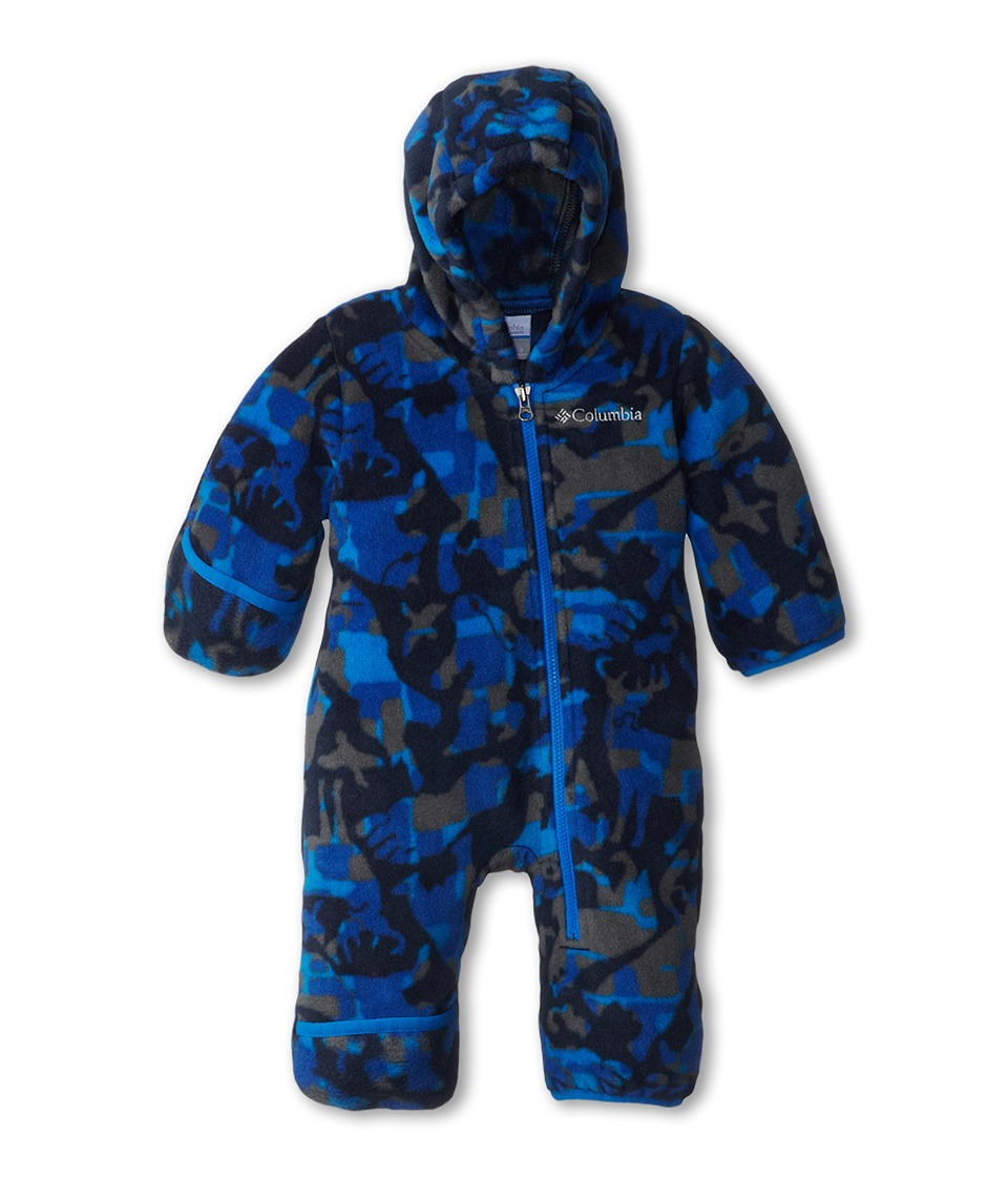 Columbia Kids - Snowtop II Bunting (Infant) (Hyper Blue Critter Camo) Kid's Jumpsuit & Rompers One Piece