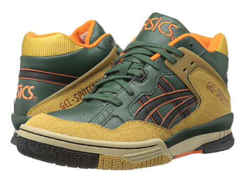 Onitsuka Tiger by Asics - Gel-Spotlyte (Dark Green/Black) Lace up casual Shoes