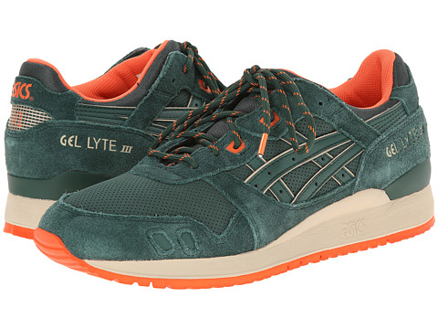 Onitsuka Tiger by Asics - Gel-Lyte III (Dark Green/Dark Green) Classic Shoes