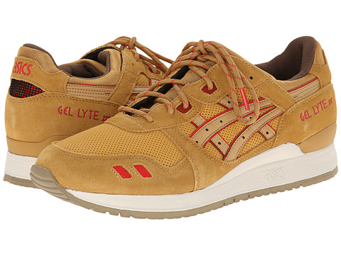 Onitsuka Tiger by Asics - Gel-Lyte III (Honey Mustard/Honey Mustard) Classic Shoes