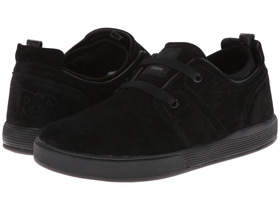 Osiris - Duffel Kickback (Black/Black/Charcoal) Men's Skate Shoes