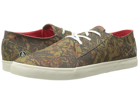 Volcom - Lo Fi (Military/Camo Print) Men's Shoes