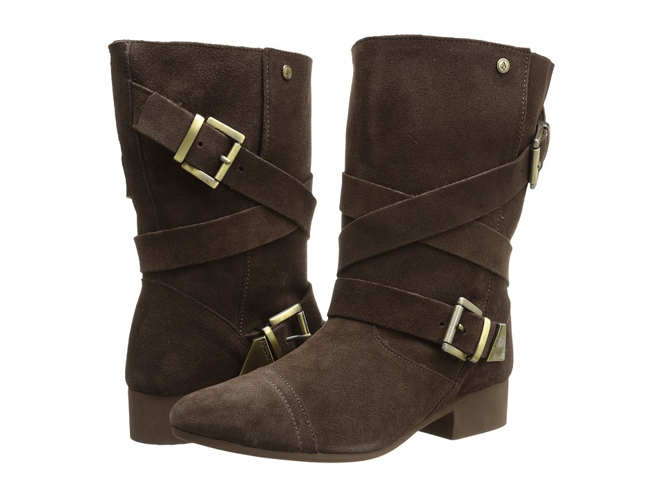 Volcom - Chic Flick Boot (Dark Brown) Women's Boots