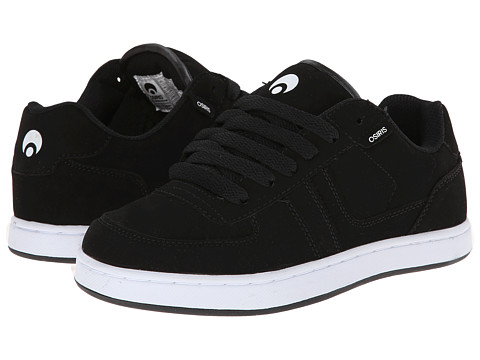 Osiris - Relic (Black/White/Black) Men's Skate Shoes
