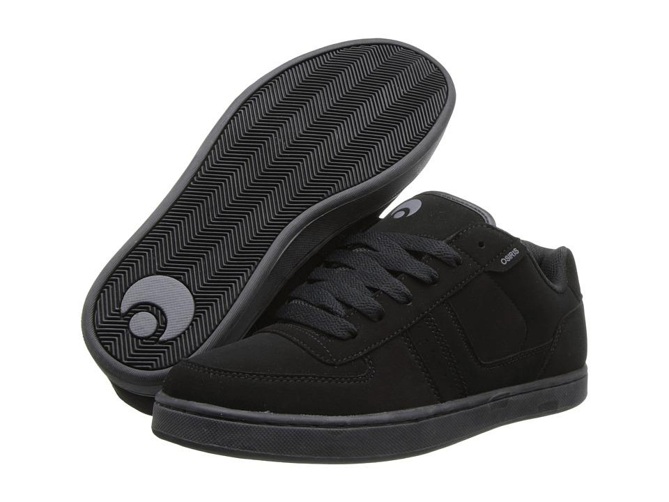 Osiris - Relic (Black/Charcoal/Black) Men's Skate Shoes