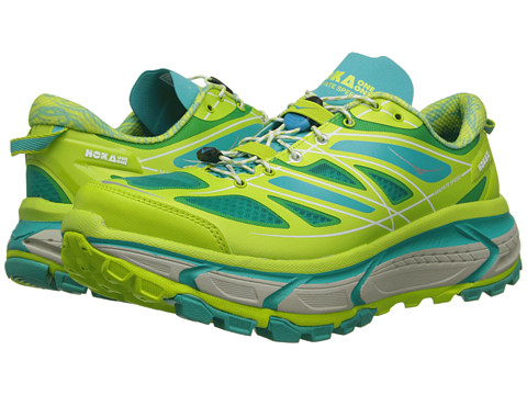Hoka One One - Mafate Speed (Acid/Aqua/Grey) Women's Running Shoes