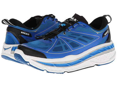 Hoka One One - Stinson Lite (Blue/White/Black) Men's Running Shoes
