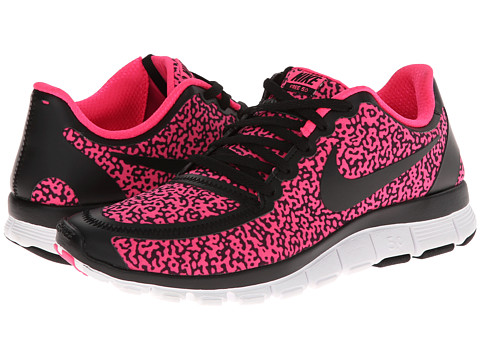 Nike - Free 5.0 V4 (Black/Hyper Pink/Black) Women's Shoes