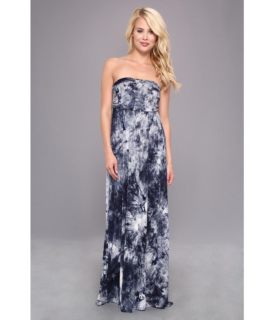 Culture Phit - Hally Dress (Charcoal Tye Dye) Women's Dress
