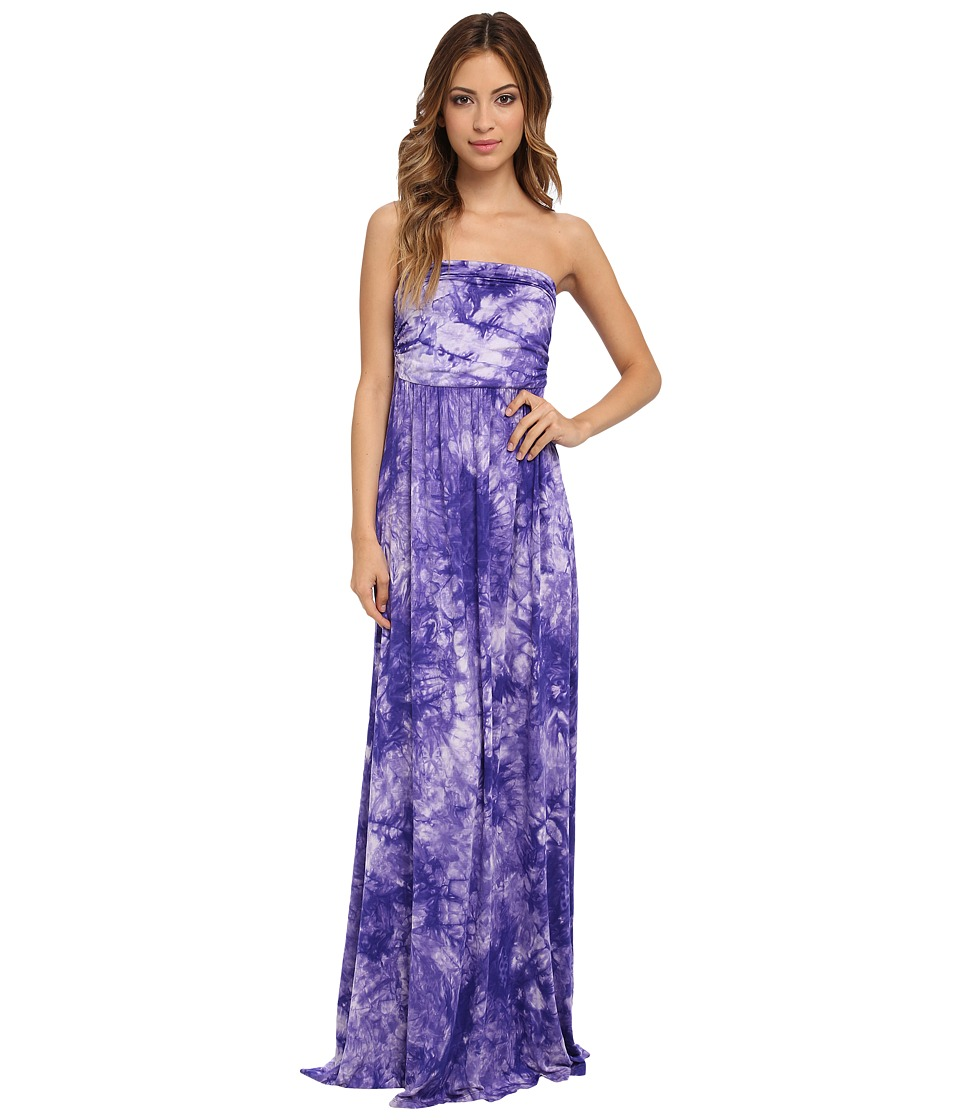 Culture Phit - Hally Dress (Light Purple Tye Dye) Women's Dress