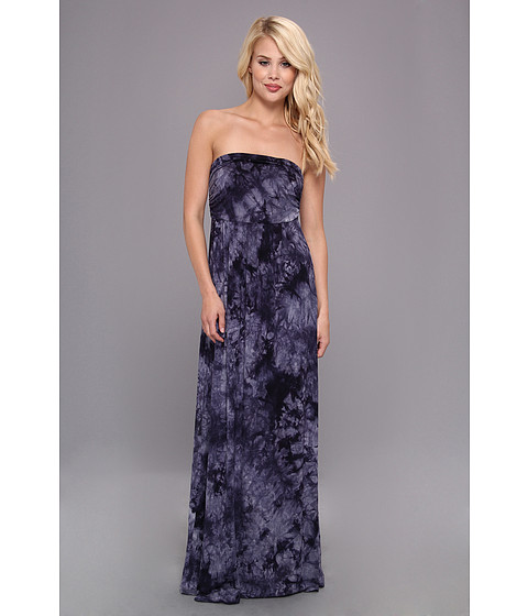 Culture Phit - Hally Dress (Navy Tye Dye) Women