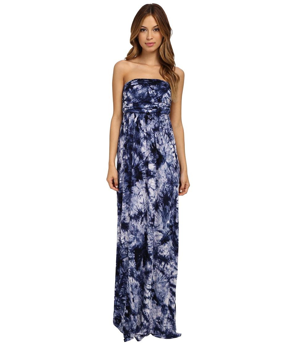 Culture Phit - Hally Dress (Blue Tye Dye) Women's Dress