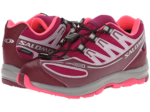 Salomon Kids - XA Pro 2 WP K (Little Kid/Big Kid) (Mystic Pruple/Bordeaux/Crocus Purple) Girls Shoes