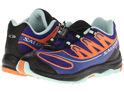 Salomon Kids - XA PRO 2 K (Toddler/Little Kid/Big Kid) (Spectrum Blue/G Blue/Orange Feeling) Girls Shoes