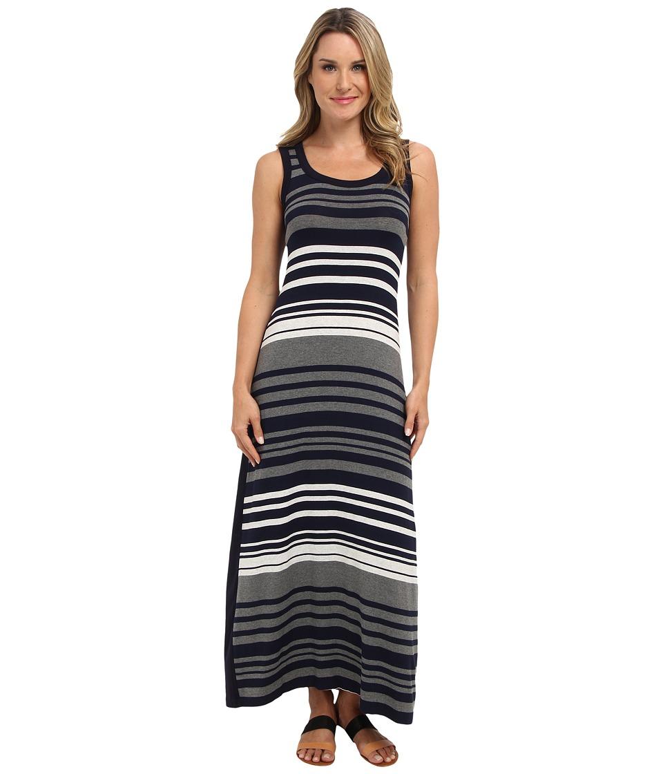 Karen Kane - Contrast Maxi Dress (Stripe) Women