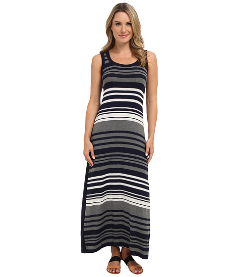 Karen Kane - Contrast Maxi Dress (Stripe) Women