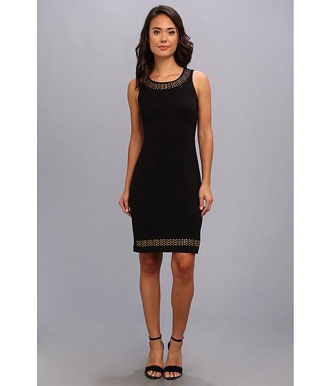 Karen Kane - Naomi Embellished Dress (Black) Women