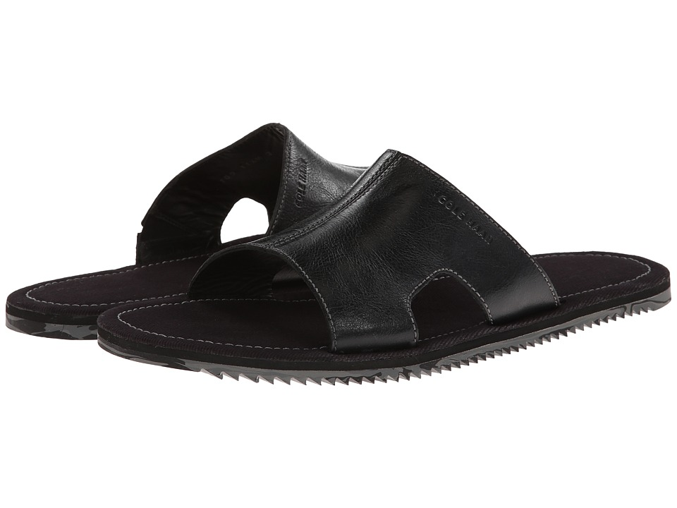 Cole Haan - Meyer Slide (Black) Men's Slide Shoes