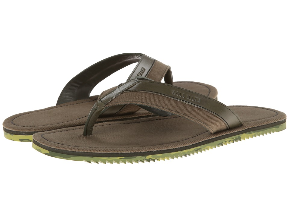 Cole Haan - Meyer Thong (Fatigue) Men's Slippers