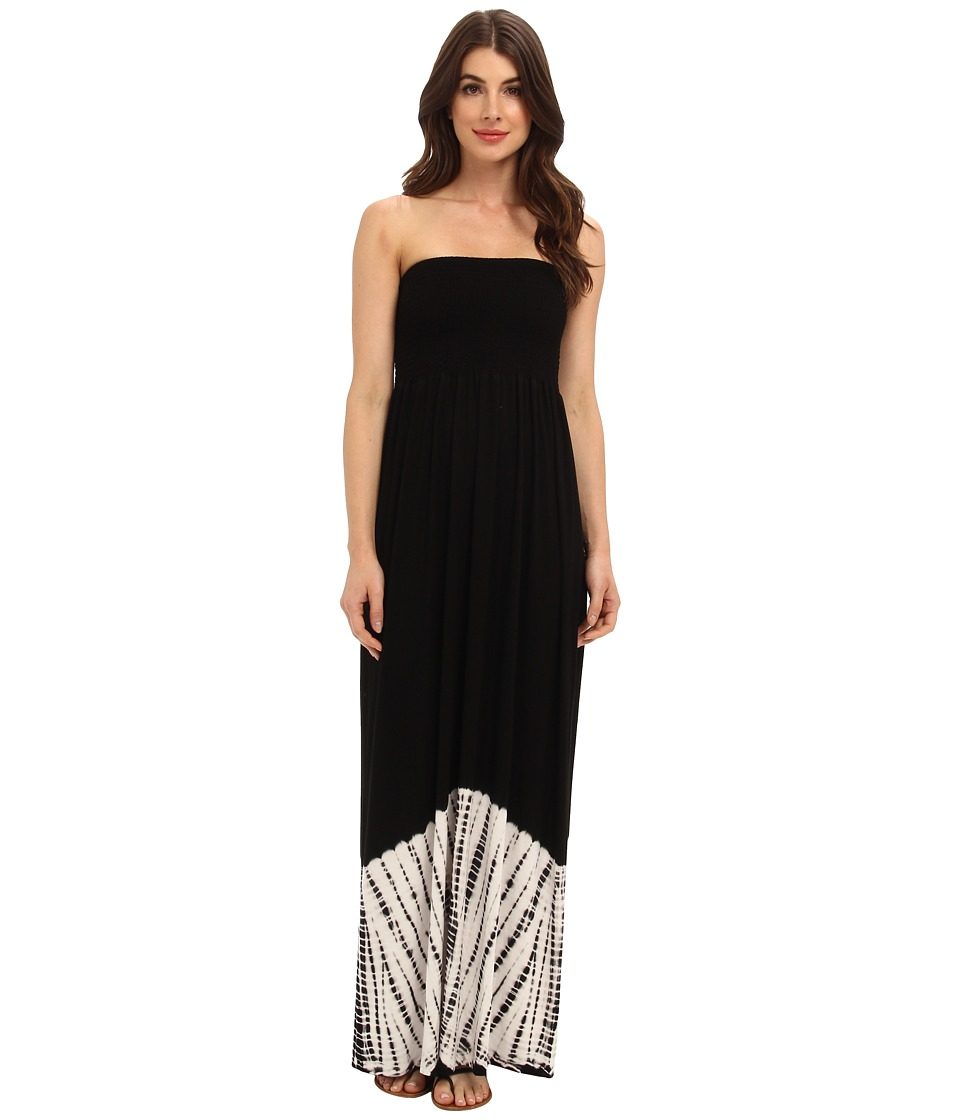 Karen Kane - Smocked Maxi Dress (Tie Dye) Women's Dress