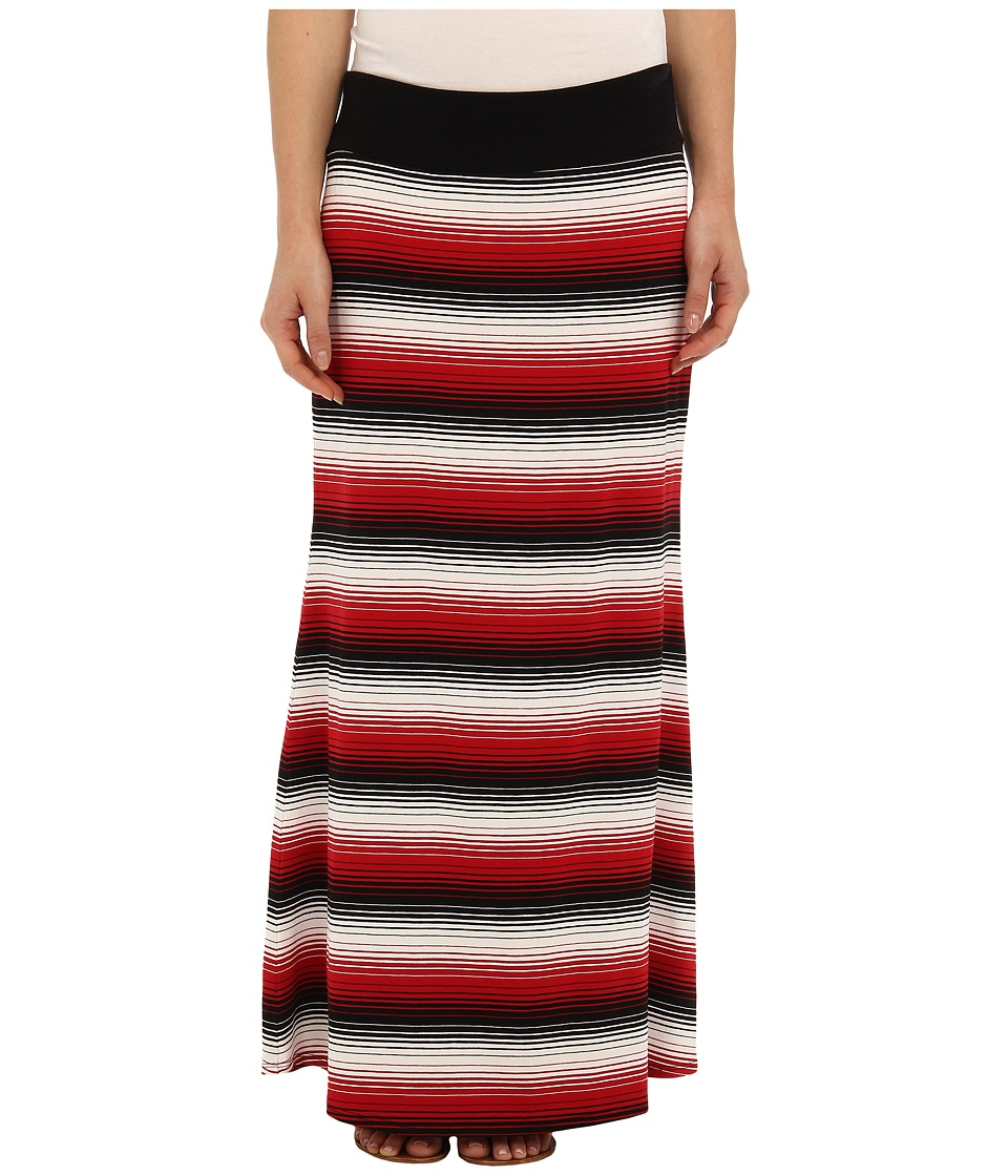 Karen Kane - Stripe Maxi Skirt (Multi) Women's Skirt