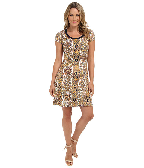 Karen Kane - T-Shirt Dress (Print) Women's Dress