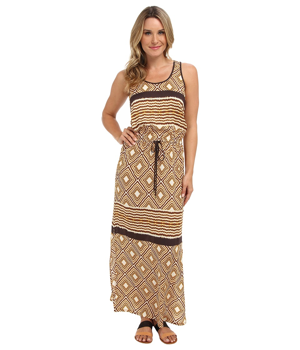 Karen Kane - Pyramid Print Maxi Dress (Print) Women's Dress