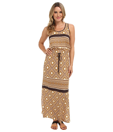 Karen Kane - Pyramid Print Maxi Dress (Print) Women's Dress
