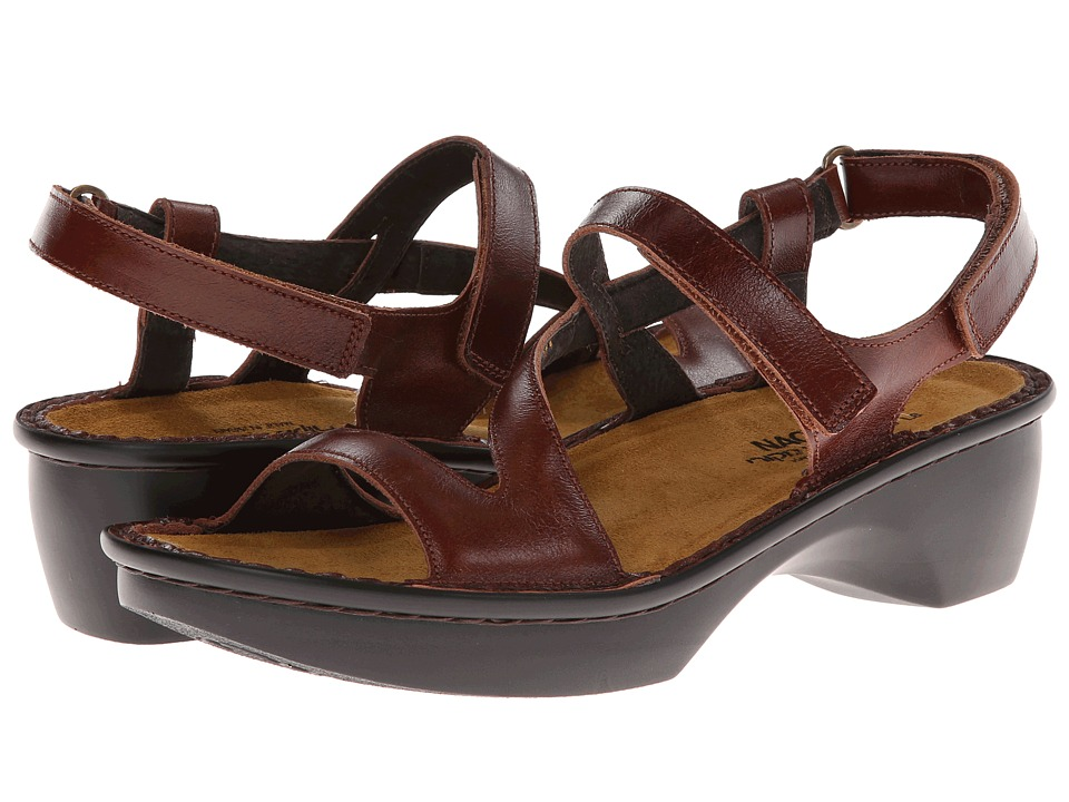 Naot Footwear - Tuscany (Luggage Brown Leather) Women