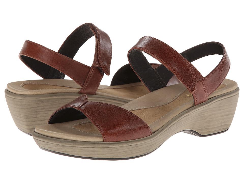 Naot Footwear Chianti (Luggage Brown Leather) Women
